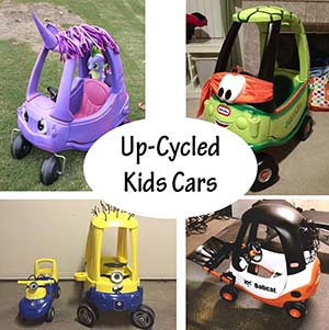 up cycled kids car ideas sm