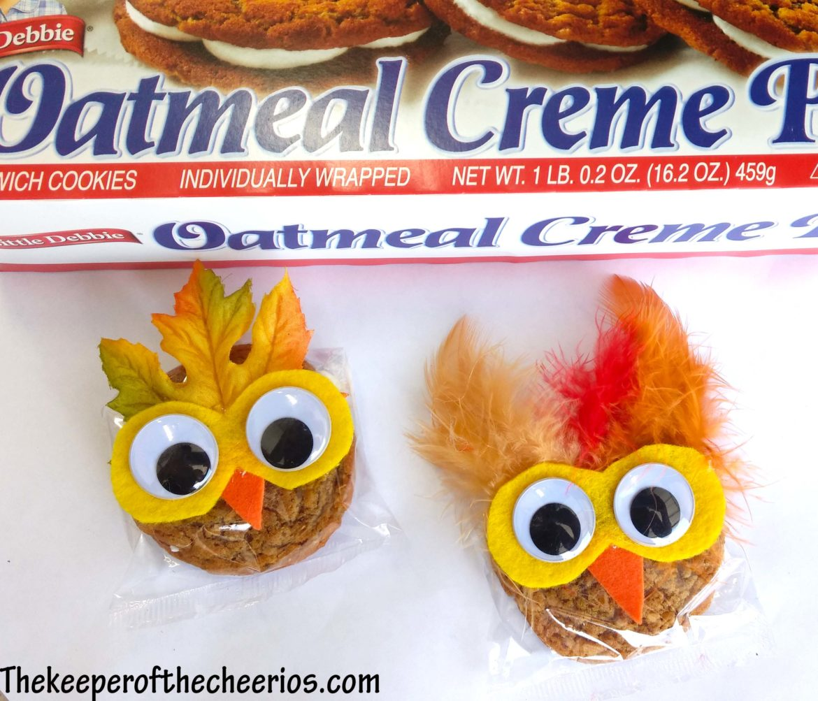 Pre Packaged Owl Cookies The Keeper Of The Cheerios