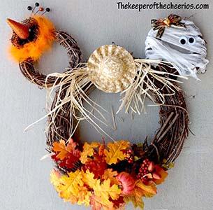 Fall Mickey Wreath sm