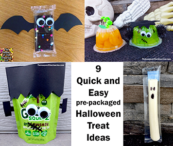 Quick and Easy Pre packaged Halloween Treat Ideas smm