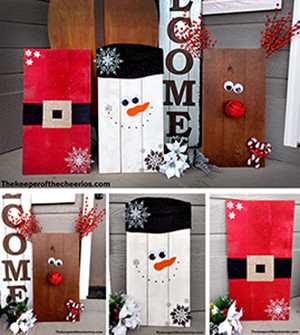 Christmas pallets smm
