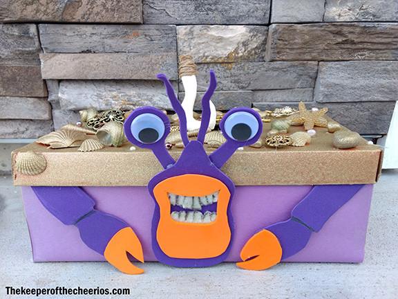 Moana Tamatoa Crab Valentines Day Box The Keeper Of The
