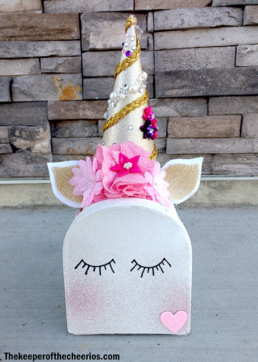 Unicorn Valentines Day Mailbox The Keeper Of The Cheerios