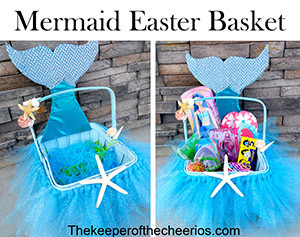mermaid easter basket amm