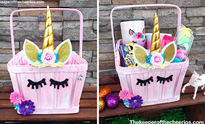 unicorn basket smm