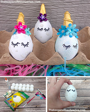 unicorn easter eggs smm
