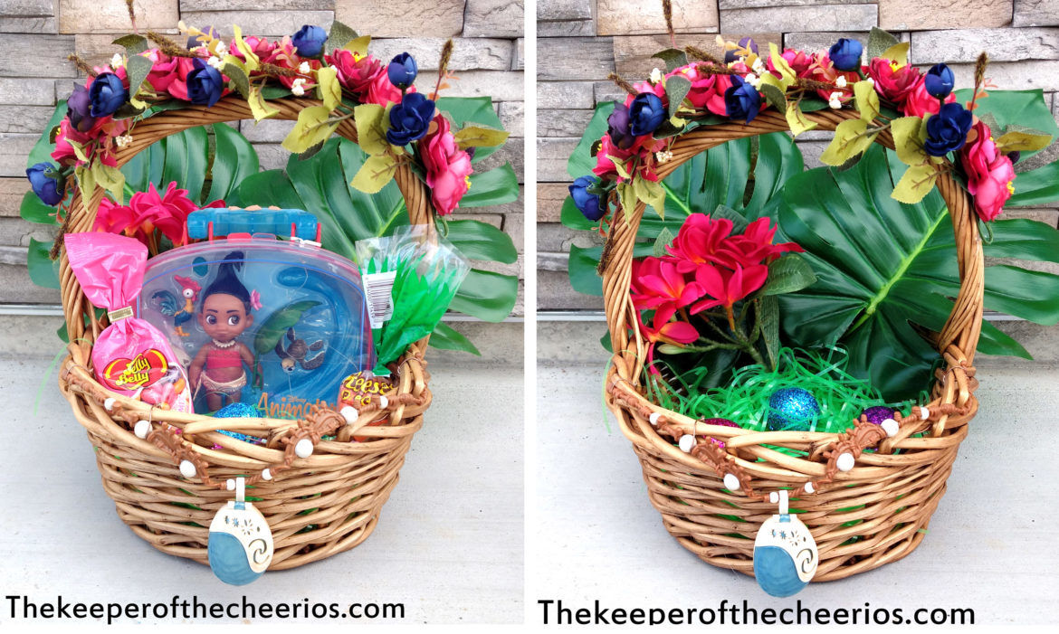 Moana Easter Basket The Keeper Of The Cheerios