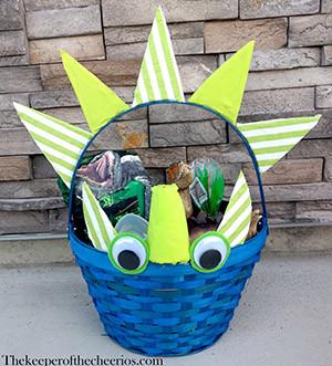dinosaur easter basket smmm