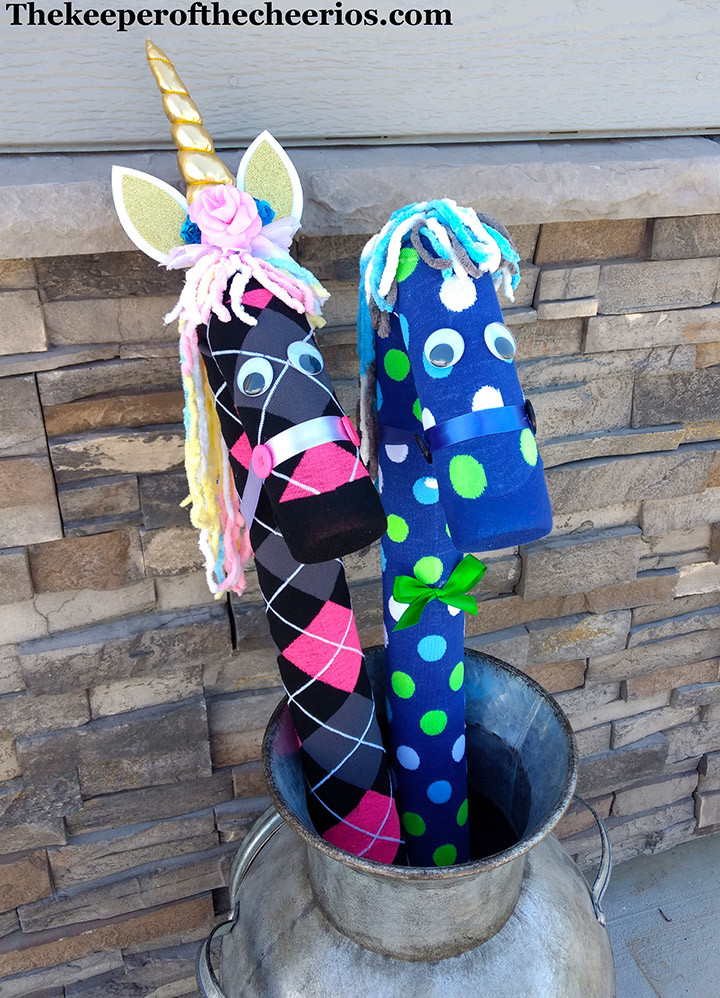 Pool Noodle Stick Horse Amp Pool Noodle Unicorns