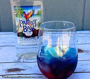 red white and blue slushies smm