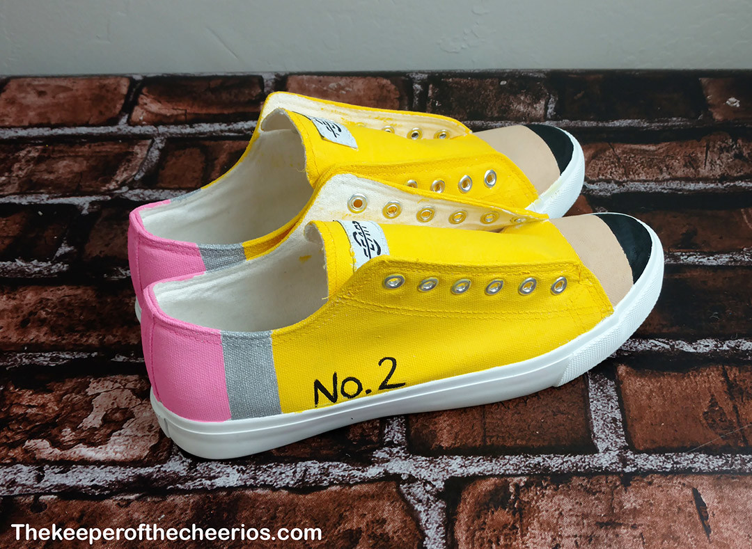 DIY Pencil Shoes - The Keeper of the