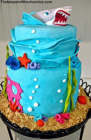 shark cake sm