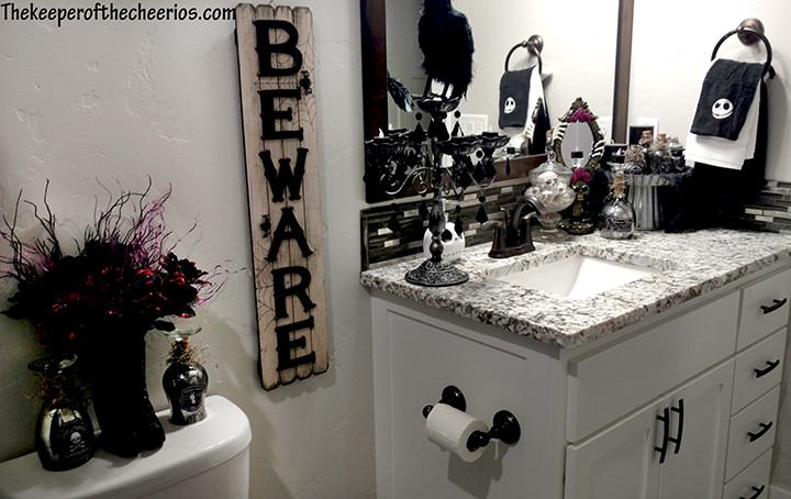 Nightmare Before Christmas Bathroom The Keeper Of The