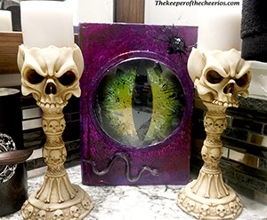 halloween eyeball book
