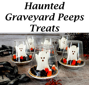 haunted graveyard peeps treats