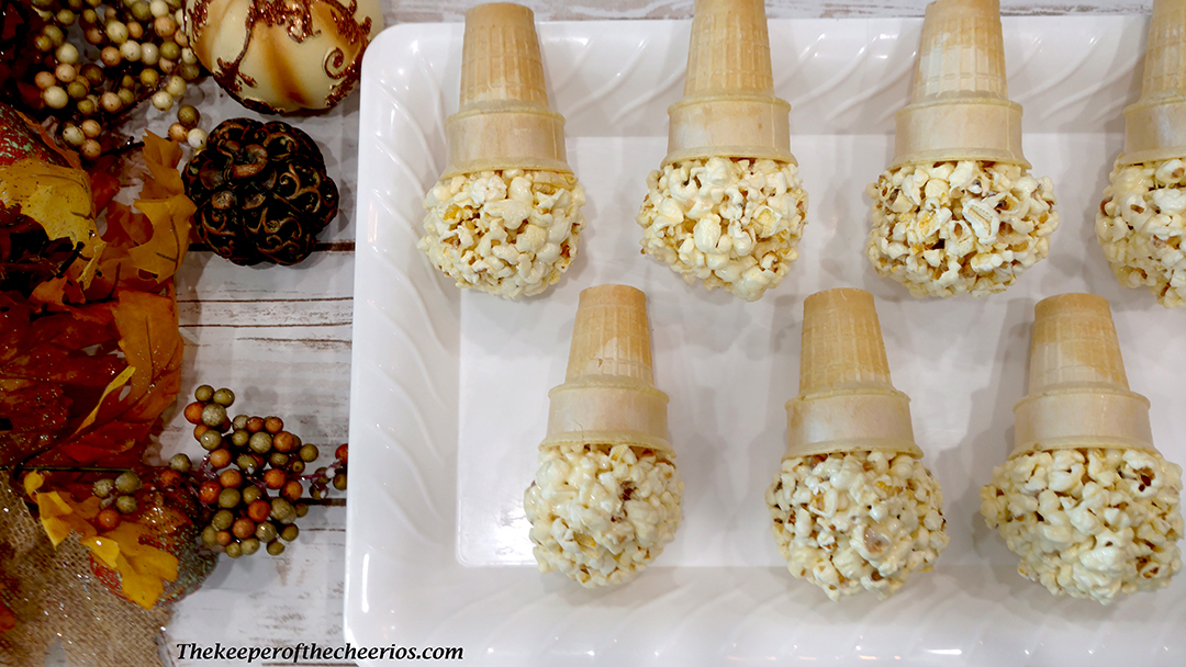 Super Silly Scarecrow Popcorn Balls