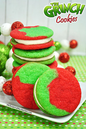 Grinch Cookies The Keeper Of The Cheerios