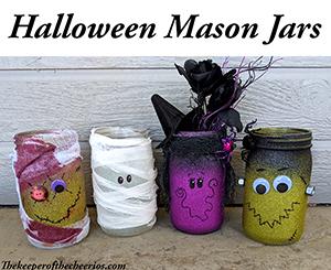 Halloween Mason Jars smm