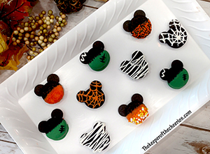 Halloween and Fall Mickey Cookies smm