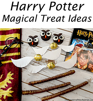 Harry Potter party treats smm
