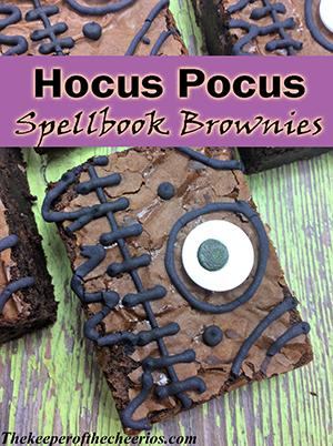 Hocus pocus spellbook brownie sm