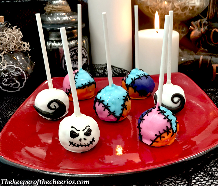 Nightmare Before Christmas Cake Pops The Keeper Of The