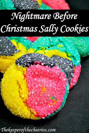 Nightmare before christmas sally cookies 2