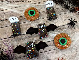 Pre packaged Halloween treats smm