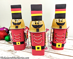 Nutcracker Juice Box Treats