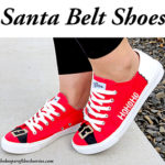 DIY Santa Belt Shoes