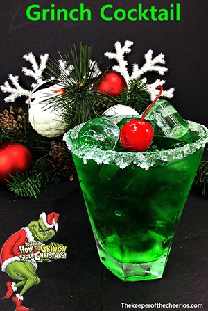 Grinch Cocktail smm