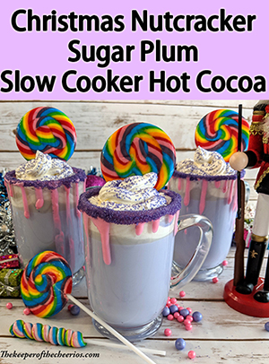 Christmas Nutcracker Sugar Plum Slow Cooker Hot Cocoa