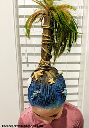 palm tree crazy hair sm