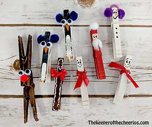 christmas clothespins smm