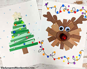 christmas paper craft smm