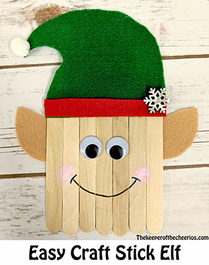 craft stick elf smm