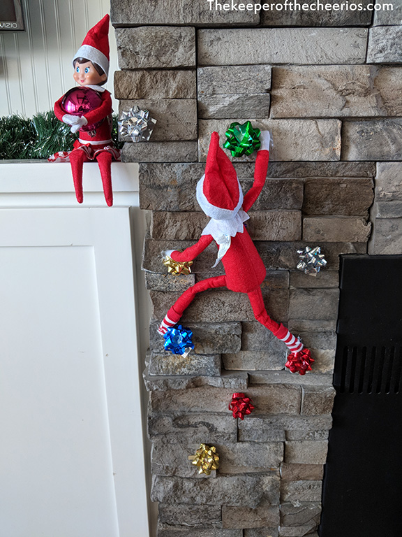 Elf On The Shelf Ideas The Keeper Of The Cheerios