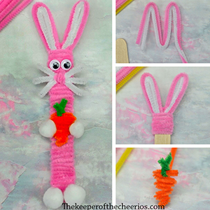 craft stick bunny smm