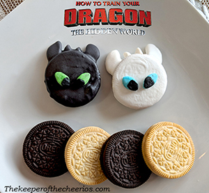 how to train your dragon oreos smm
