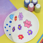 April showers paer plate craft smm