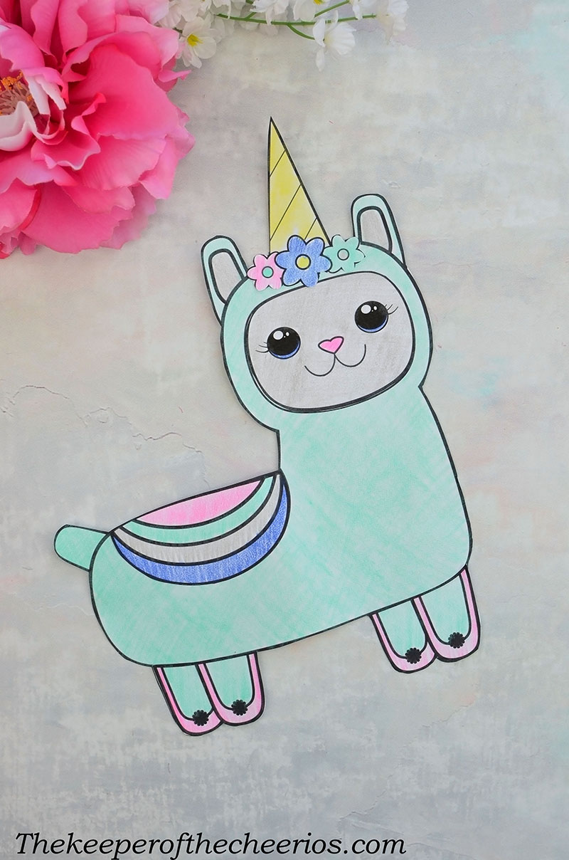 design your own llama craft