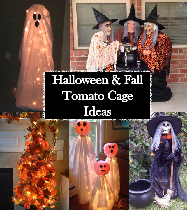 halloween-and-fall-tomato-cage-ideas