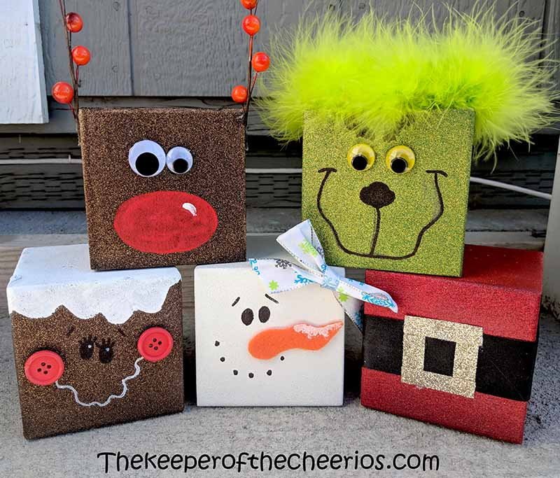 Christmas-wood-blocks