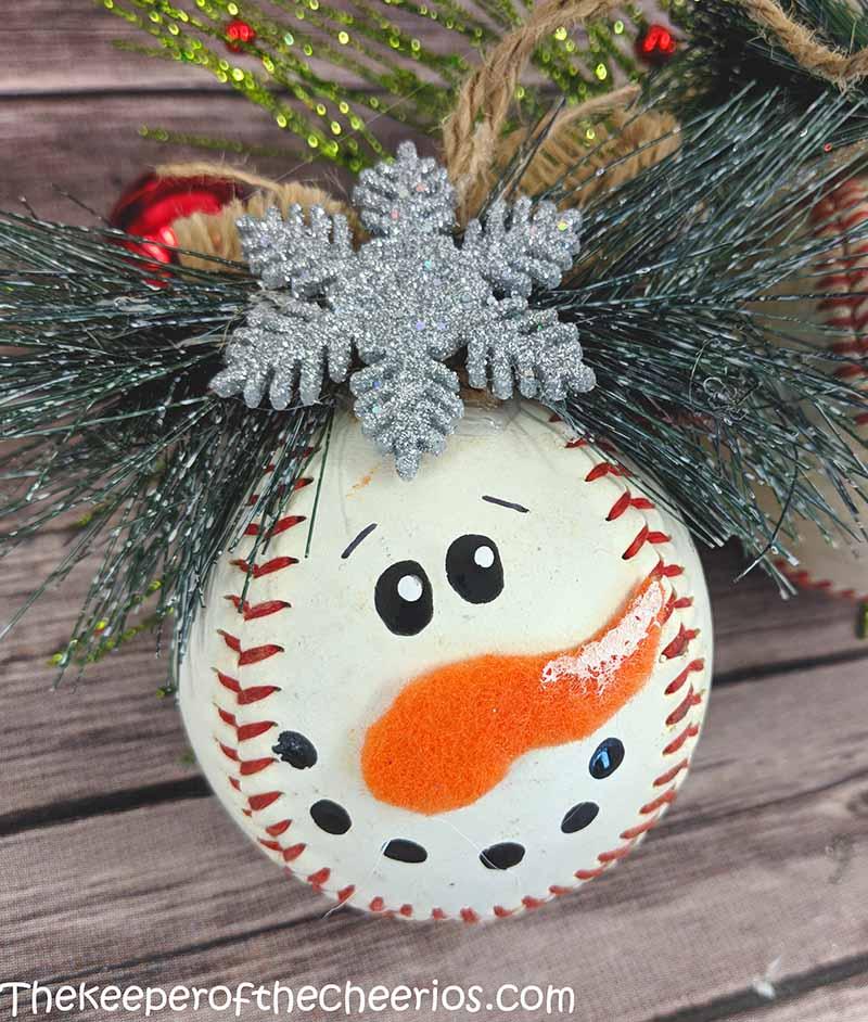 snowman-baseball-ornament-1