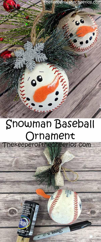 snowman-baseball-ornament-diy