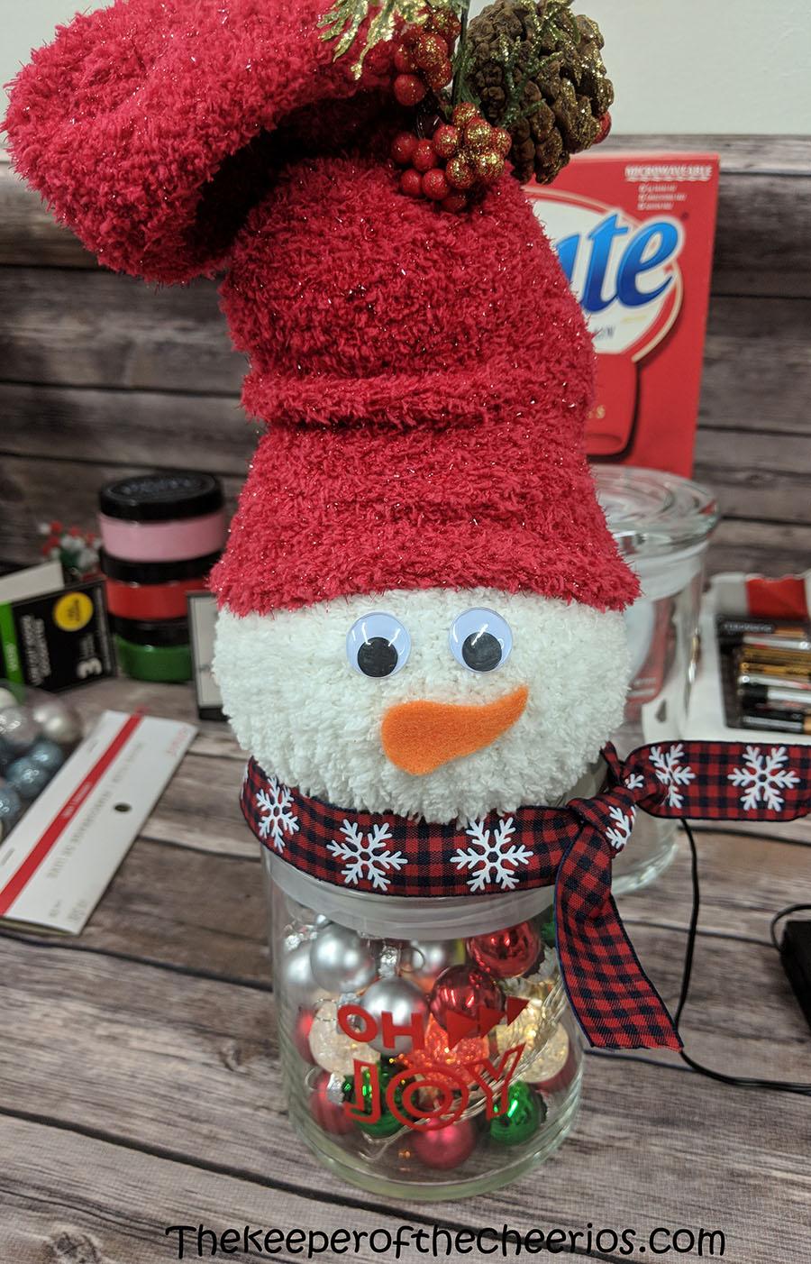 lighted-jar-sock-snowman-8