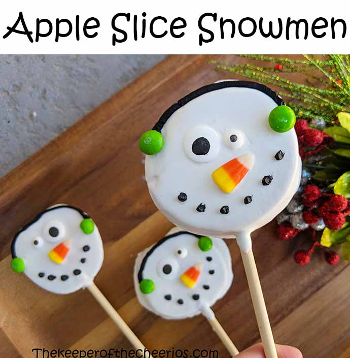 snowman-apple-slice