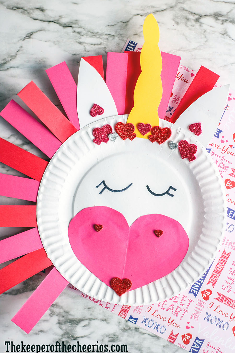 unicorn-paper-plate-craft