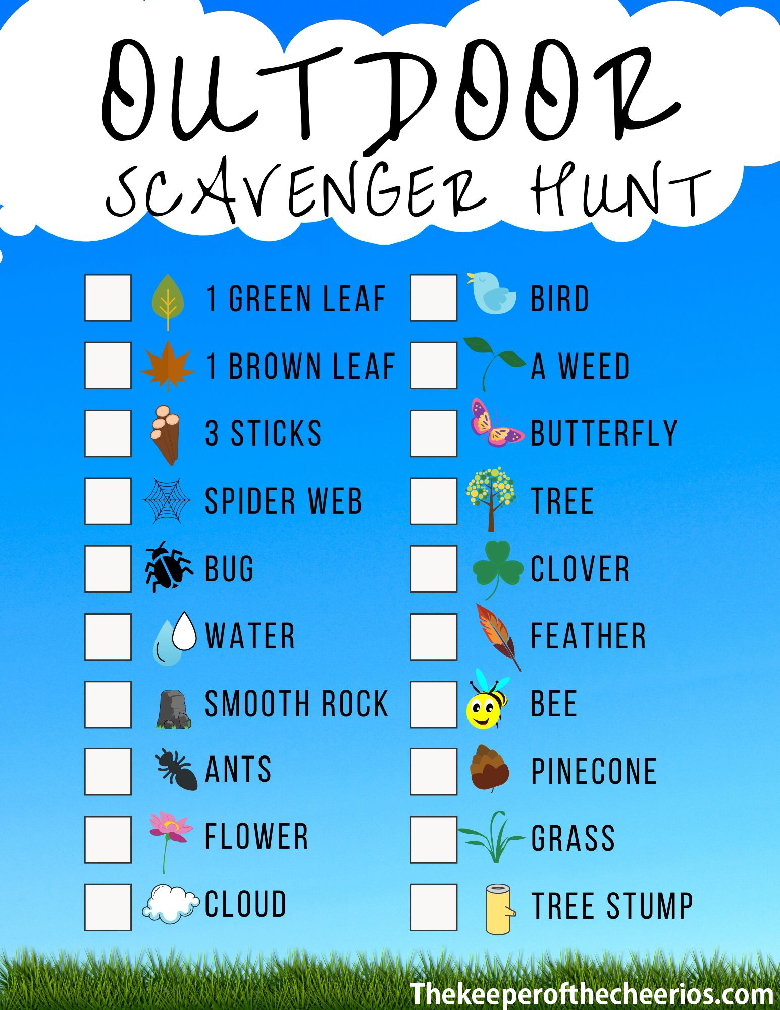 Outdoor-Scavenger-Hunt