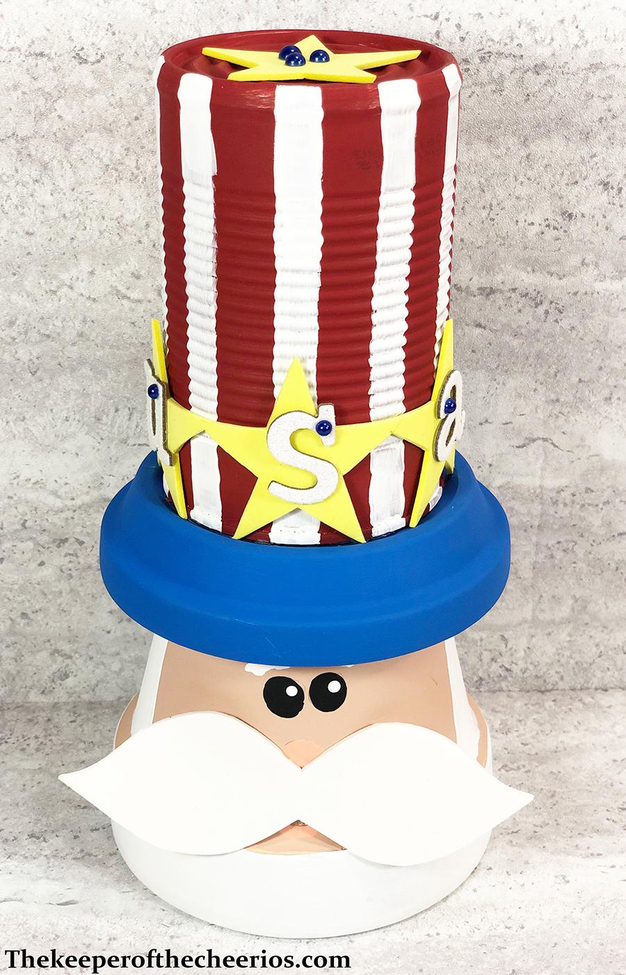 patriotic-clay-pot-uncle-sam-12